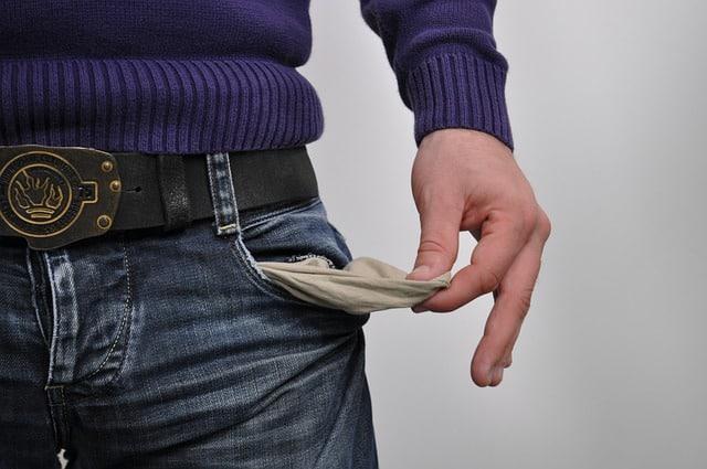 כיסים ריקים מכסף